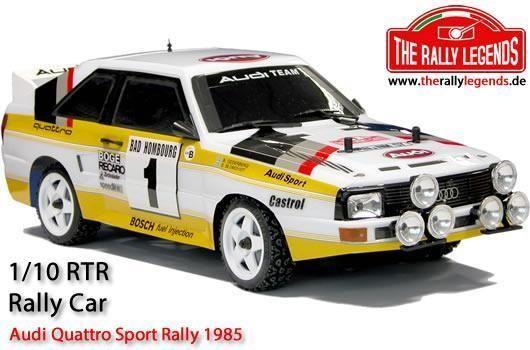 Audi Quattro Sport Rally 1985 1:10 4x4 Elektro RTR