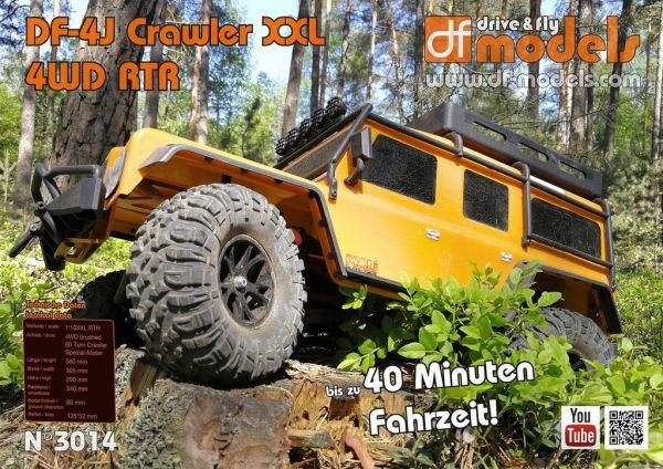 1:10 DF-4J Crawler XXL orange with LED RTR