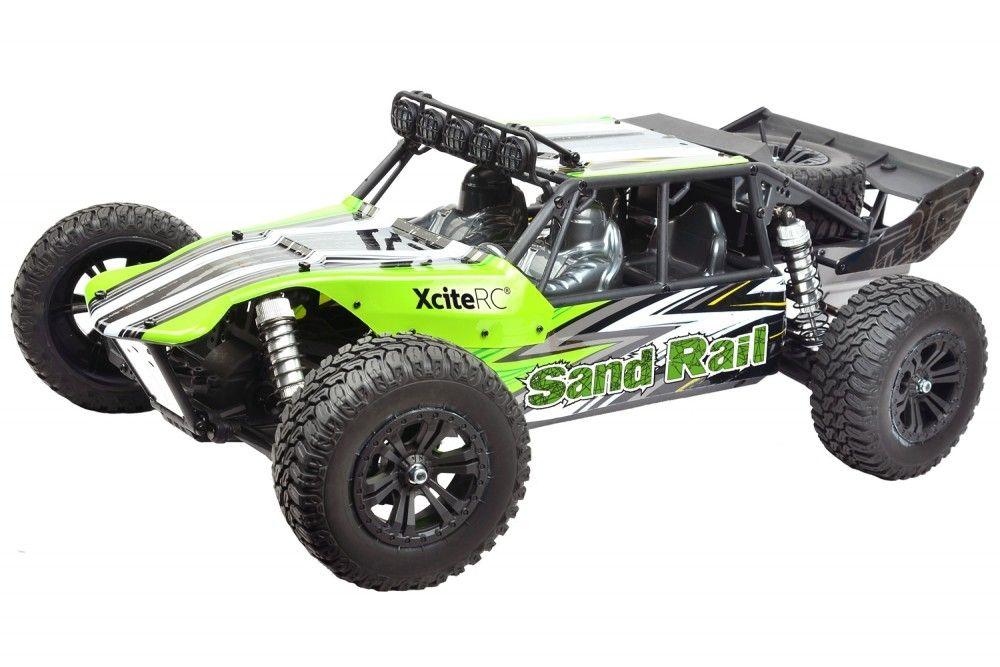 1:8 4WD Buggy Brushless Sand Rail RTR grün