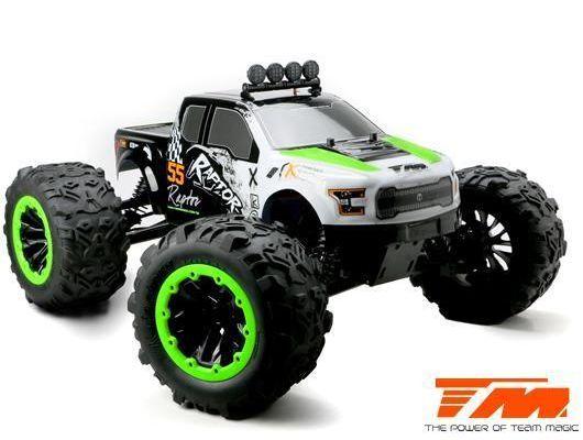 1:8 E6 Raptor Monster Truck grün 6S RTR