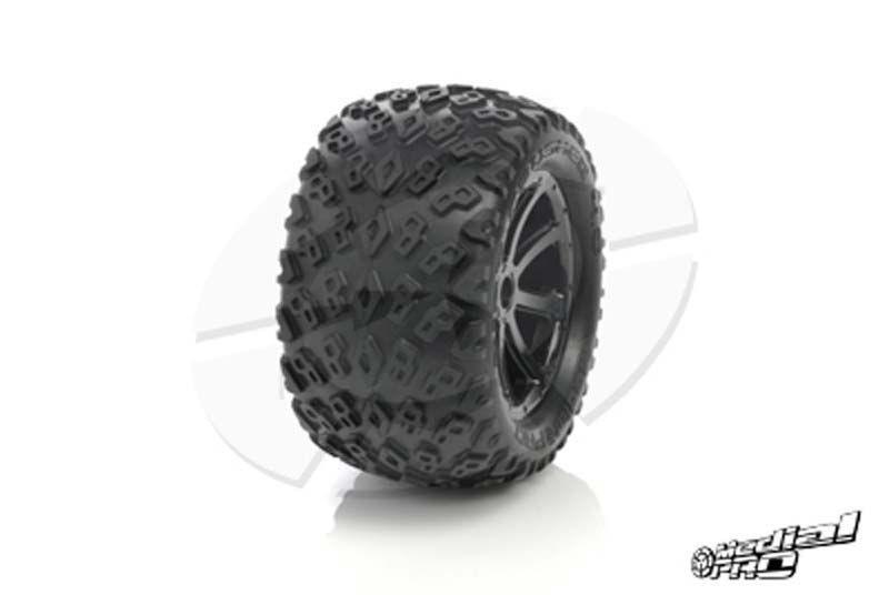 Dirt Crusher 4.0 Traxxas Wheel 17mm (2)