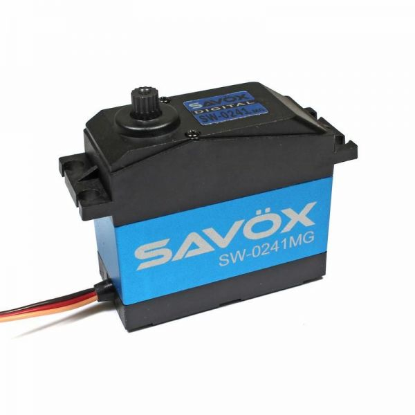 1:5 HV Waterproof Digital Servo 0,17s./40kg