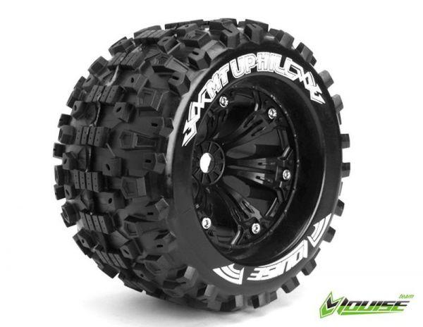 """3,8"""" Wheels Uphill Monster Truck 1/2 Offset 17mm (2)"""