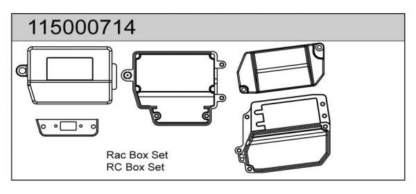 RC Box Set X8 - T08614