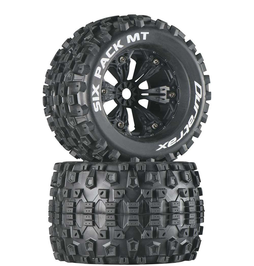 """3,8"""" Wheels Six Pack Monster Truck 1/2 Offset 17mm (2)"""
