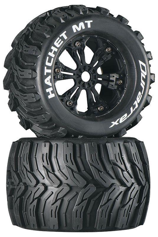 """3,8"""" Hatchet Monster Truck 1/2"""" Wheels (2)"""