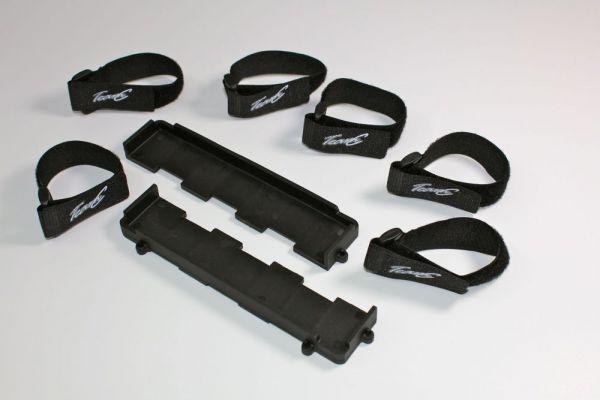 Batteriehalter (2 St.) inkl. Klettband (6 St.) 1:8 BL