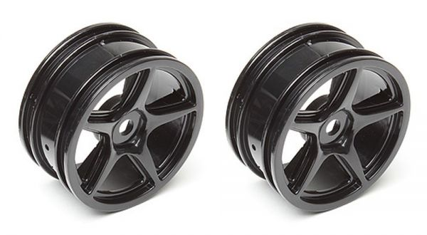 5-Spoke Wheels black
