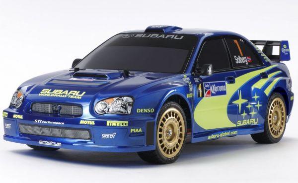 1:10 RC Subaru Impreza WRX 2004 TT-01E Bausatz