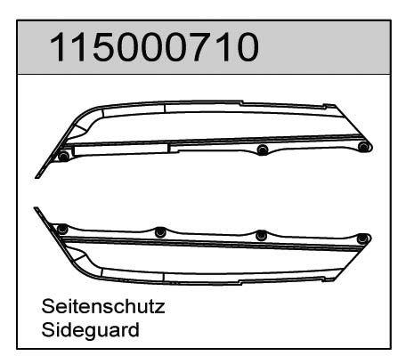 Seitenschutz X8 - T08610