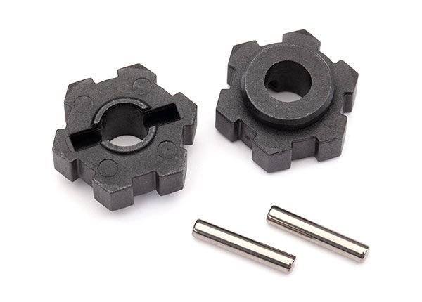 center //screw pin rear 1 Traxxas Drive hub // front 1