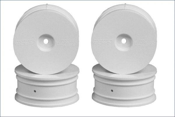 Diskfelge 24mm, weiss/weich (4)
