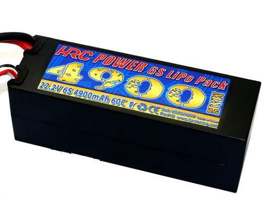 Lipo 22,2V 4900mAh 60C/110C Hardcase Dean