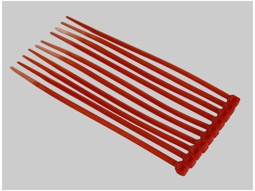 Kabelbinder 3x100mm rot (50)