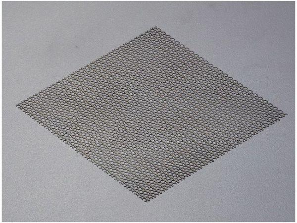 Edelstahl Platte Hexagon Muster