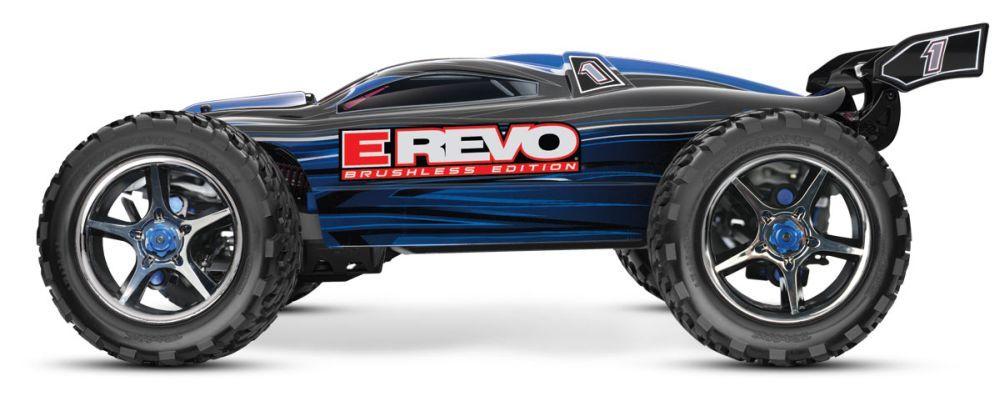 E-Revo Brushless TSM ohne Akku RTR