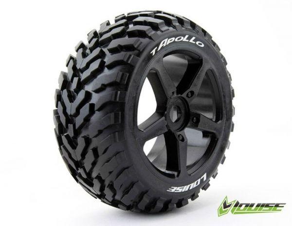1:8 Truggy Tires T-Apollo sport black Spoke (2)