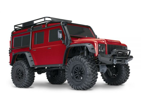 TRX-4 Land Rover Crawler rot 1:10 RTR
