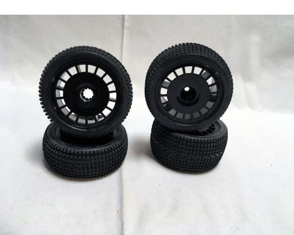 Stunt Warrior Tire Set used
