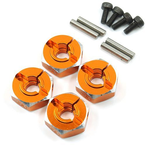 12mm Alu.-Radmitnehmer 6mm orange (4)