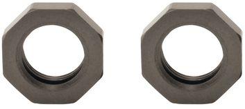 Hart eloxiert Aluminum Pre-load Rändelmutter (2)