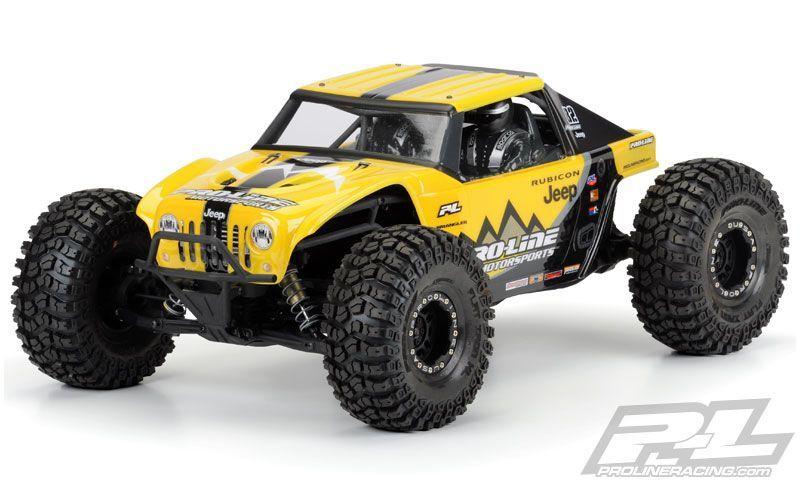 Yeti Jeep-Wrangler Rubicon Karosserie klar