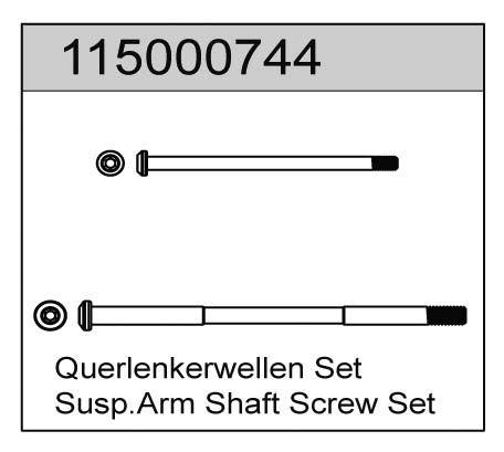 Querlenkerwellen Set X8 - T08646