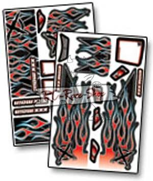 Dekorbogen X-Wrapz IGNITE Truggy rot