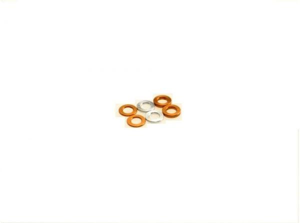 3mm Scheiben (0.5/0.75/1.0) Orange (6)