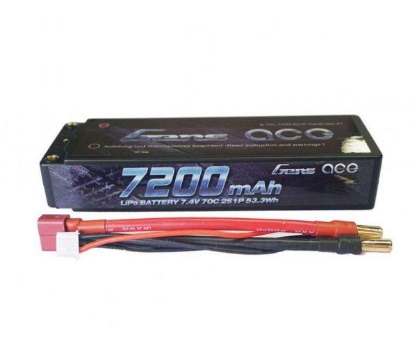 LiPo 7,4V 7200mAh 70C