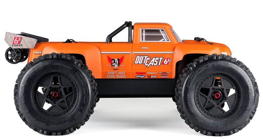 Outcast 2018 orange RTR 1:8 Monster
