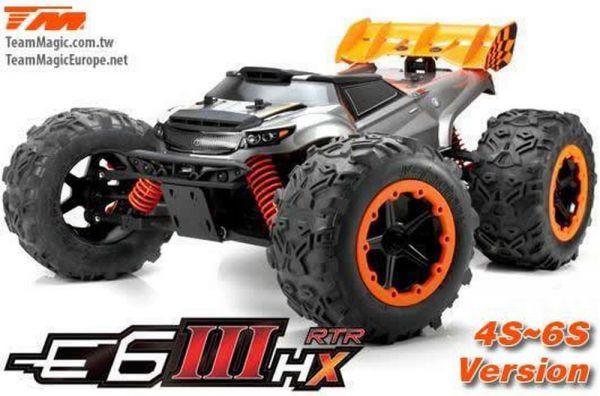 E6-III HX Monstertruck 4-6S RTR