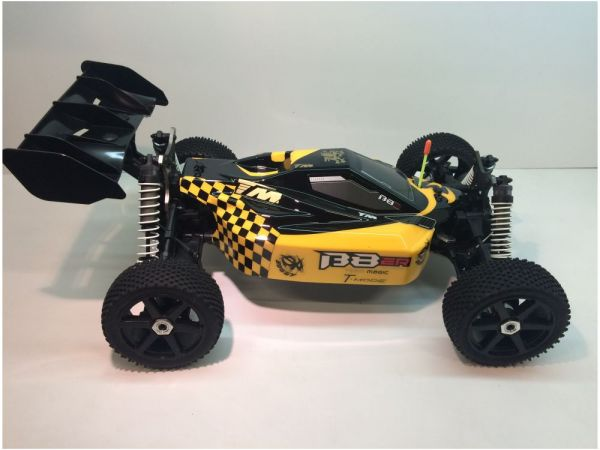 B8ER 1:8 Buggy 4S-BL Roller