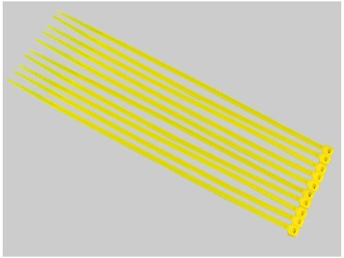 Kabelbinder 3x150mm gelb (50)