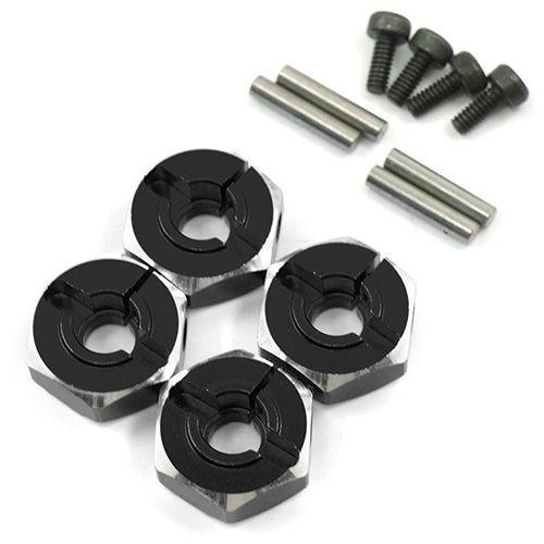 12mm Alu.-Radmitnehmer 5,5mm schwarz (4)