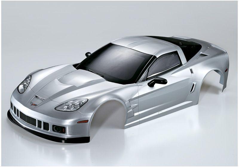 Karosserie Corvette GT2 1:7 silber XO-1