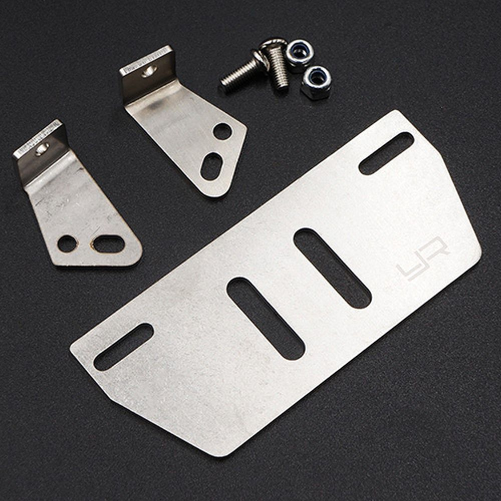 TRX-4 Stainless Steel Skid Plate (1)