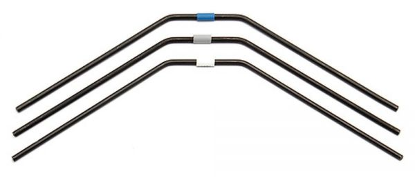 RC8B3 FT Rear Anti-roll Bars 2.5-2.7mm