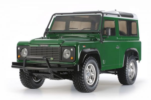 1:10 RC Land Rover Defender 90 CC-01 Bausatz