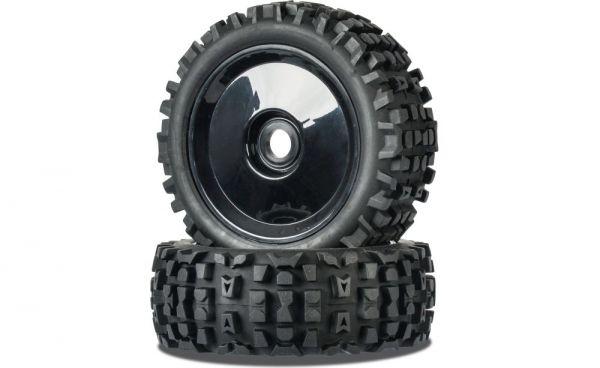 1:8 Reifen Set Buggy Big Spike 1 schwarz (2)