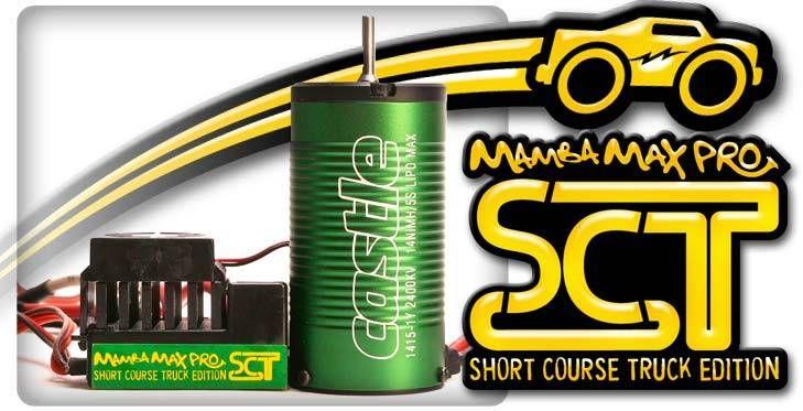 Mamba Max Pro SCT Edition Brushless Set Neu-Castle 1415 2400kV