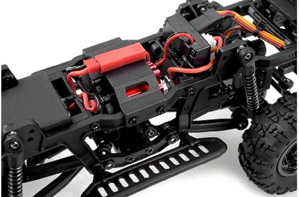 CARISMA Adventure msa-1e Coyote 4x4 Mini scale crawler 1//24 RTR #ca-79368