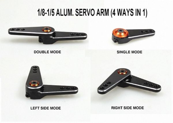 Alu. Multi-Servoarm 1/5 Savox (1)