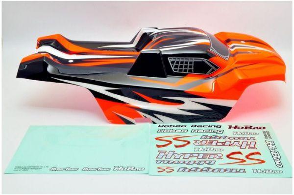 SST Karosserie lackiert orange