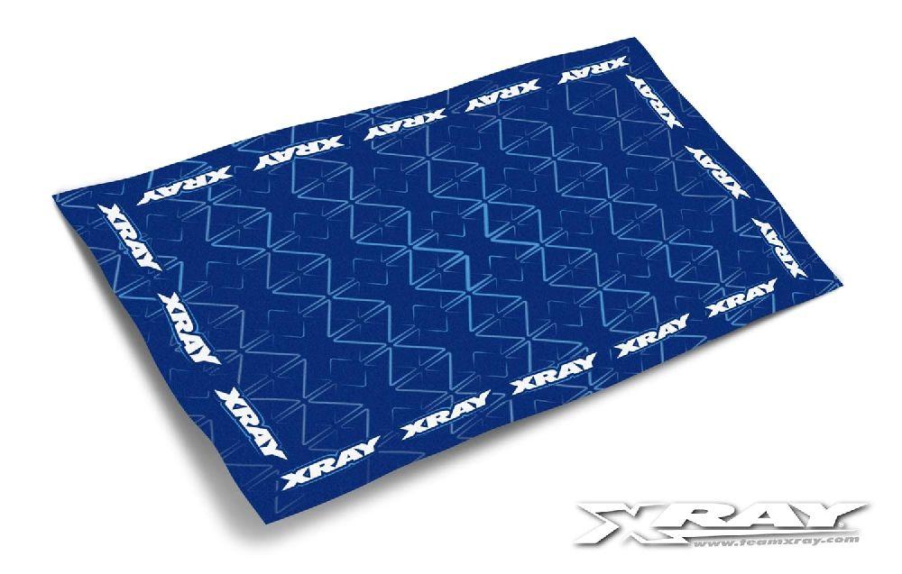 Boxen-Handtuch 1200mm x 730mm blau