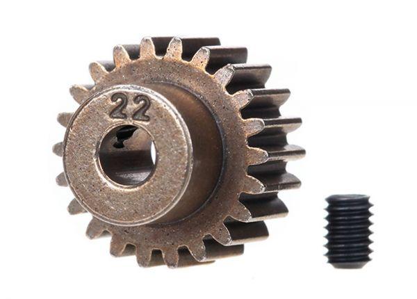 Gear, 22-T pinion (48-pitch) / set screw