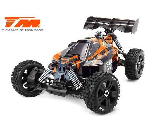 B8ER 1:8 Buggy 6S RTR orange/schwarz