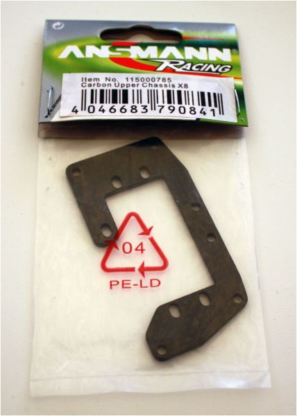 Carbon Servoplatte X8 - TU0815