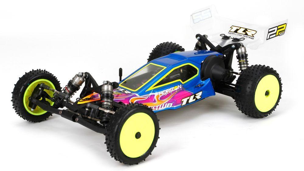 TLR 22 2.0 1/10 2WD Buggy Race Baukasten