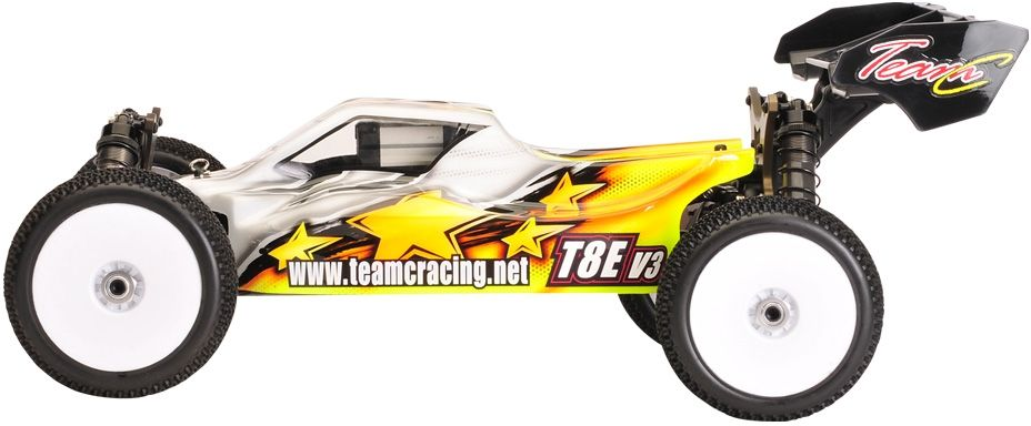 1:8 Buggy T8EV3 4WD Brushless Competition Baukasten